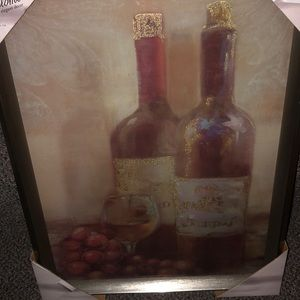 Wall Art - Set of wine picture frames !